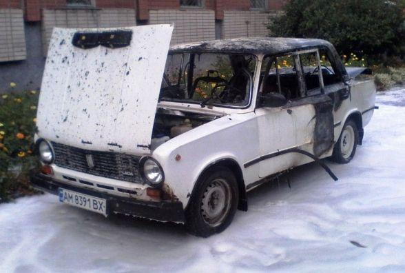 У Новограді-Волинському під час спроби самостійного гасіння палаючого автомобіля травмувалася сімейна пара