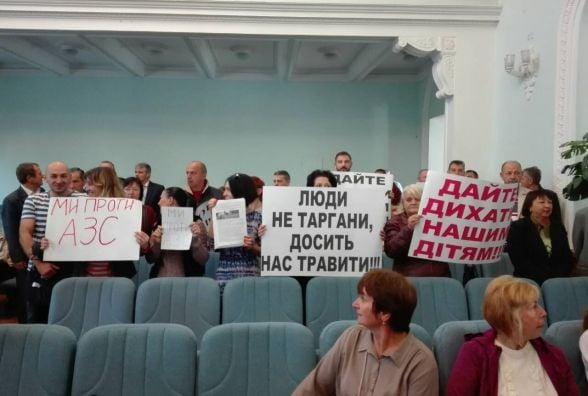 Позачергова сесія Житомирської міськради: були й протести, було й кіно