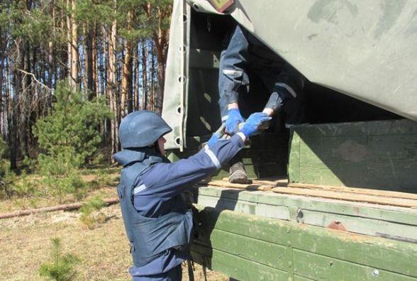 У Житомирському районі на дні висохлої водойми знайшли вибухонебезпечний предмет