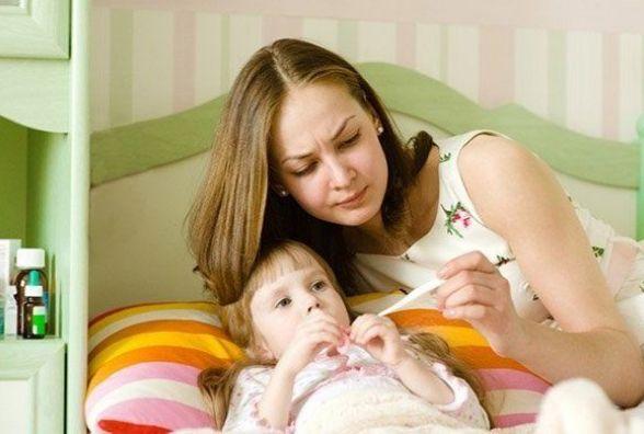 Кількість дітей, хворих на грип і ГРВІ, за тиждень зросла на 7%