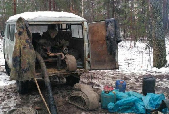"""В Олевському районі """"впіймали"""" нелегальних бурштиношукачів"""