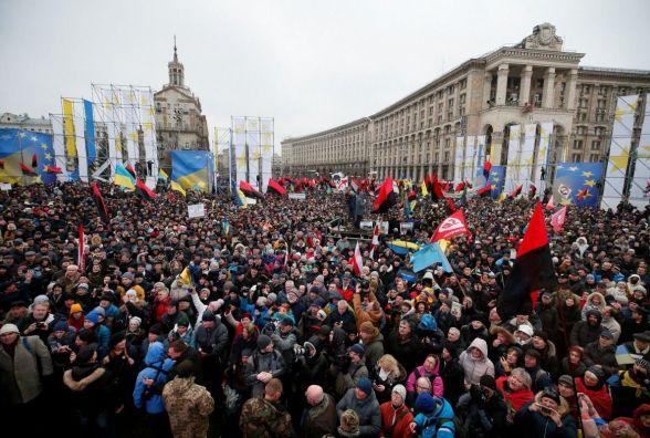 Мітингувальники в центрі Києва оголосили 4 вимоги до ВР