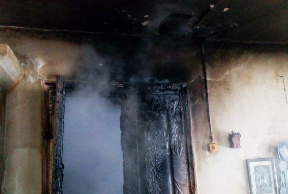У Народицькому районі під час пожежі загинула літня жінка