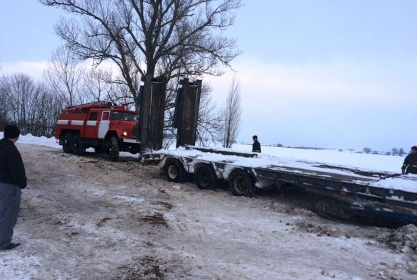 Упродовж доби рятувальники вилучили зі снігових заметів 8 транспортних засобів