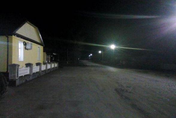 У п'яти населених пунктах Житомирщини встановили світлодіодне освітлення
