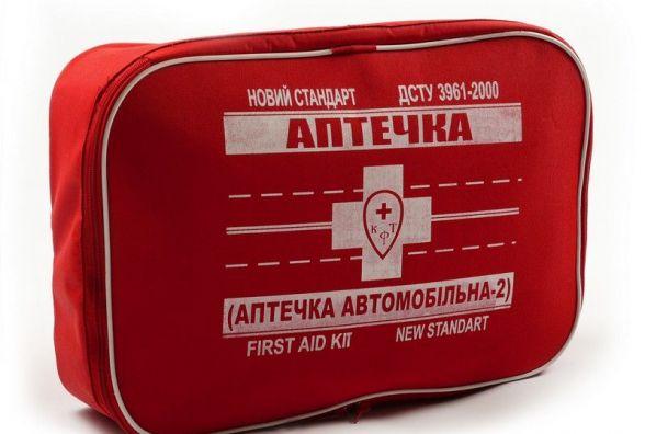 У МОЗ затвердили новий склад автомобільних аптечок