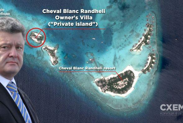Порошенко таємно відпочив на Мальдівах майже за 500 000 доларів