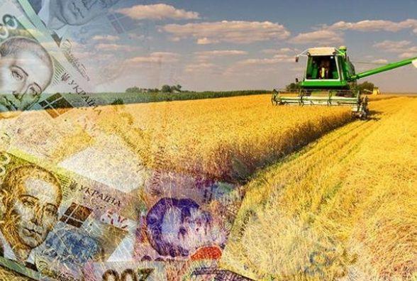 Фінасова підтримка аграрного сектору України — 6,3 млрд грн
