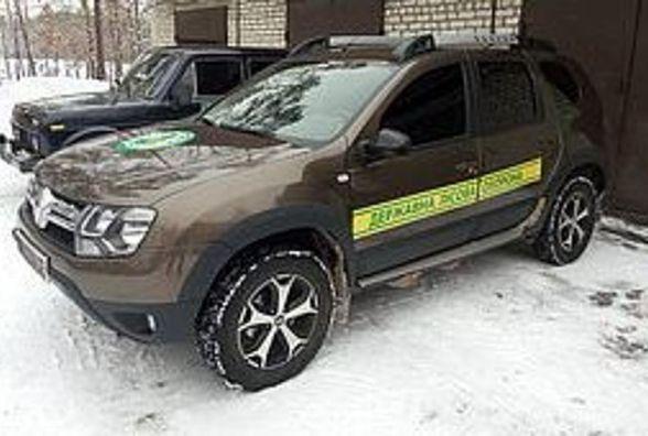 Працівники Малинського лісгоспу похвалилися новим автомобілем