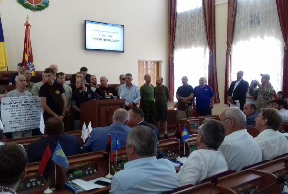 Житомирські активісти вимагають звільнити українських політв'язнів Кремля