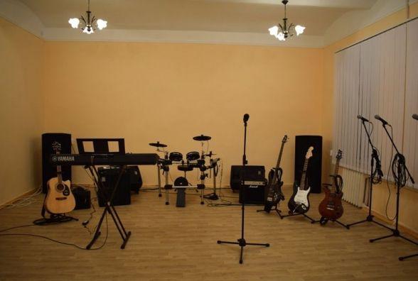 У Житомирському військовому інституті відкрили музичну студію