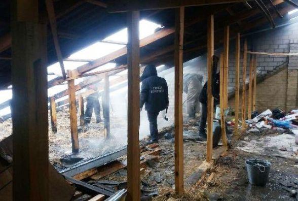 У Любарському районі через коротке замикання ледь не згорів будинок