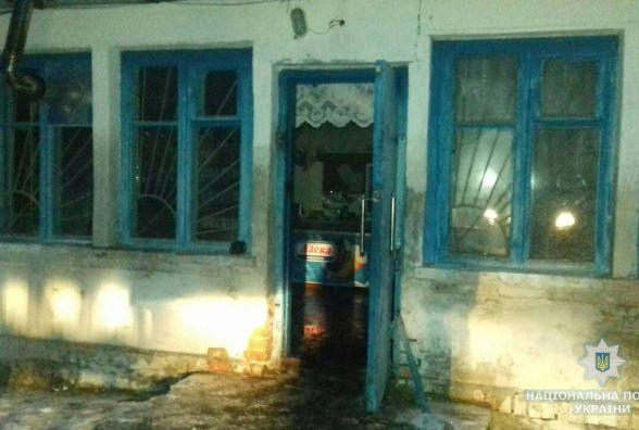 У Романівському районі молодик обікрав і підпалив магазин