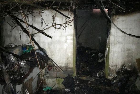 Житомирська область: через порушення правил пожежної безпеки горіли літня кухня та  котельня