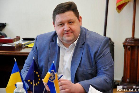 Слідом за мером Житомира свій звіт представить голова облдержадміністрації Ігор Гундич
