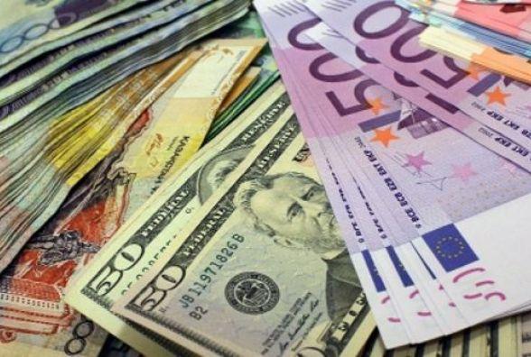 Курс валют: гривня зміцнішала на 8 копійок
