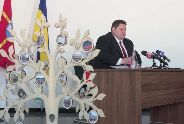 Голова Житомирської ОДА Ігор Гундич відзвітував за 2017 рік та анонсував проекти і плани на 2018 рік