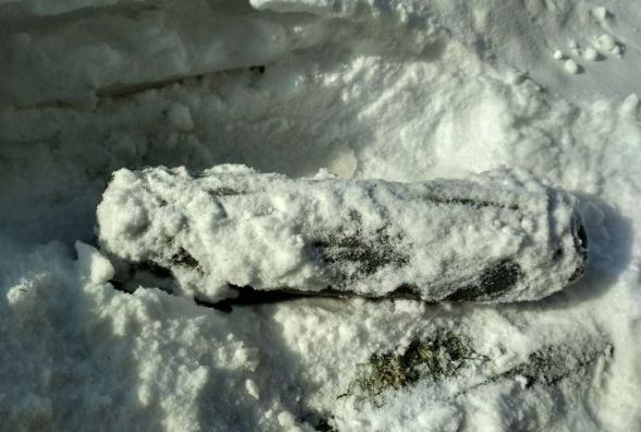 У Малині неподалік від пункту прийому металобрухту знайшли артснаряд