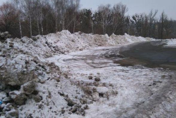 Житомирські тротуари і дороги: лід, калюжі та суцільна каша
