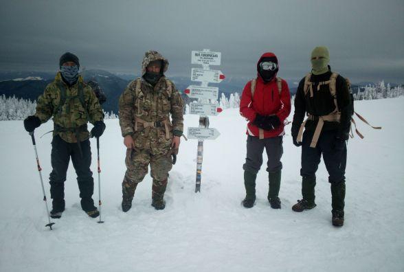 Одеські БАрСи в Карпатських горах проходили курс САС©