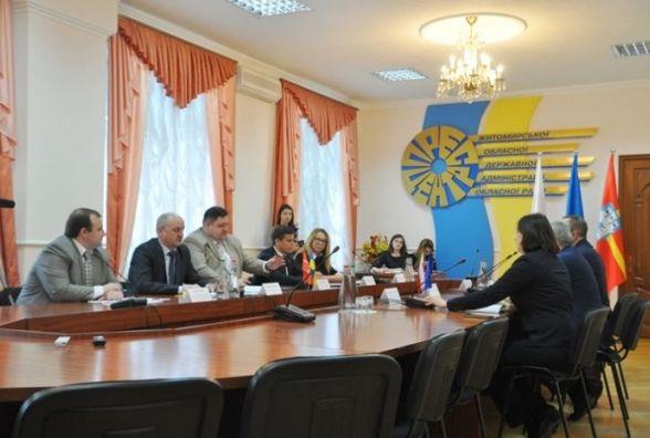 В Житомирській ОДА відбулася зустріч з представниками Посольства Республіки Польща в Україні