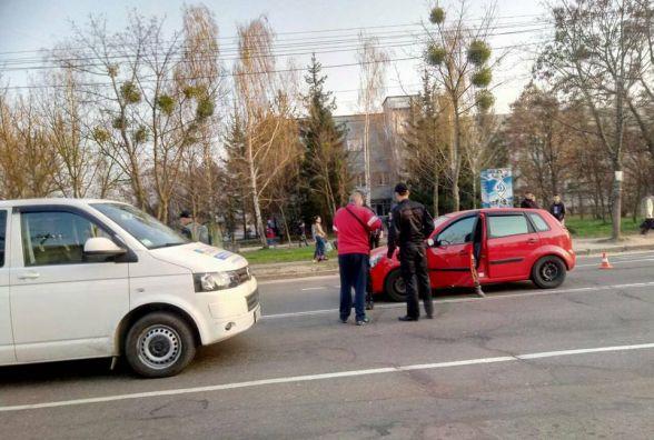 Біля спорткомплексу «Динамо» у Житомирі автомобіль збив дівчинку