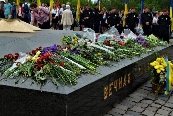 У Житомирі відзначили День перемоги над нацизмом  другій світовій війні