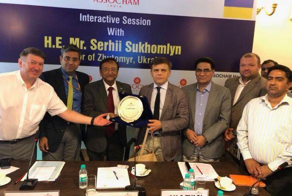 Житомирський бізнес має хороші перспективи для виходу на ринки Індії: підсумки робочого візиту Сергія Сухомлина до Індії