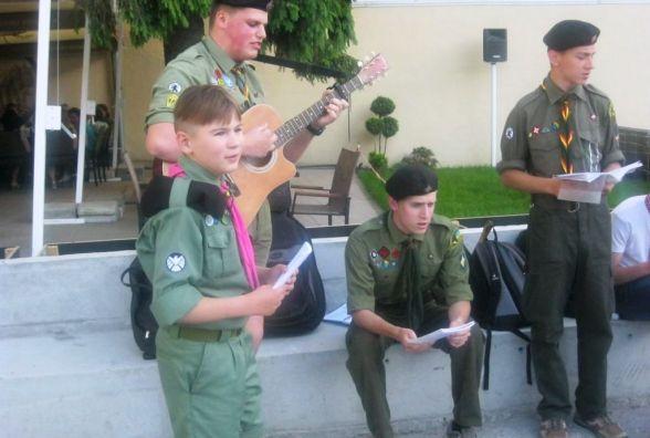 У Житомирі День Героїв України відзначили співом патріотичних пісень