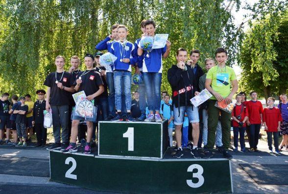 138 юнаків спробували себе у ролі вогнеборців на обласних змаганнях з пожежно-прикладного спорту в Житомирі