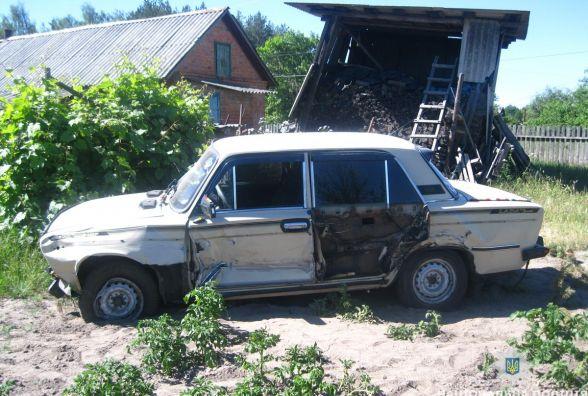У Коростенському районі поліцейські затримали угонщика-невдаху