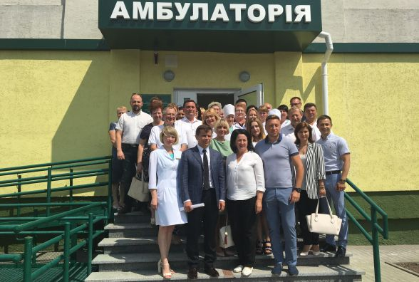 У Житомирі в мікрорайоні Корбутівка 12 червня відкрили нову амбулаторію сімейного лікаря