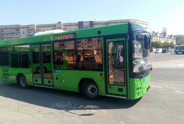 За тиждень роботи у Житомирі пошкоджено 2 новенькі МАЗи