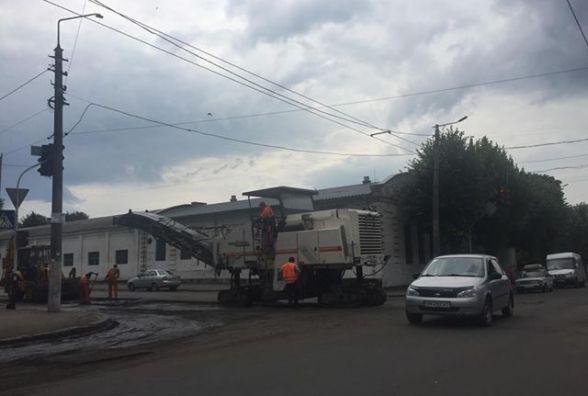 У Житомирі ремонтують вулиці Ольжича та Промислову