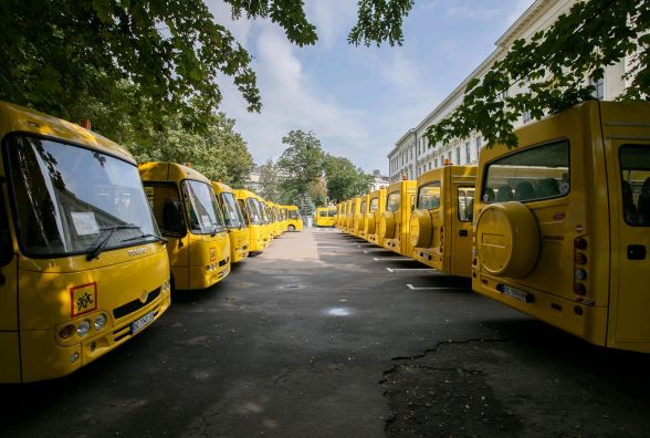 Житомирська область - одна з лідерів по використанню коштів на закупівлю шкільних автобусів