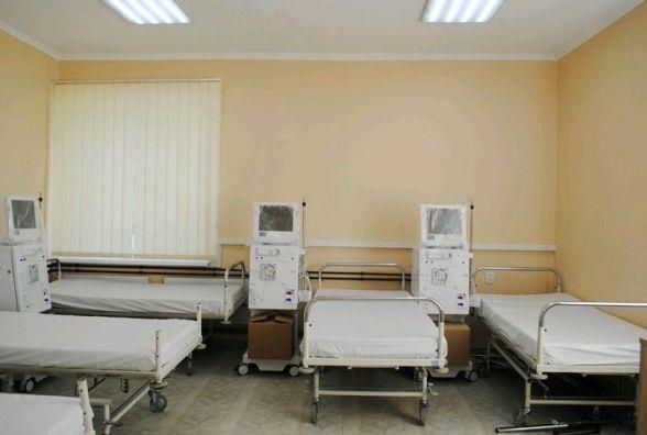 Відділення гемодіалізу в Овручі вже готове до відкриття