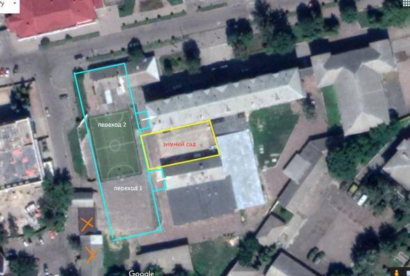 Задля будівництва нового корпусу гімназії № 23 необхідно знести декілька будівель