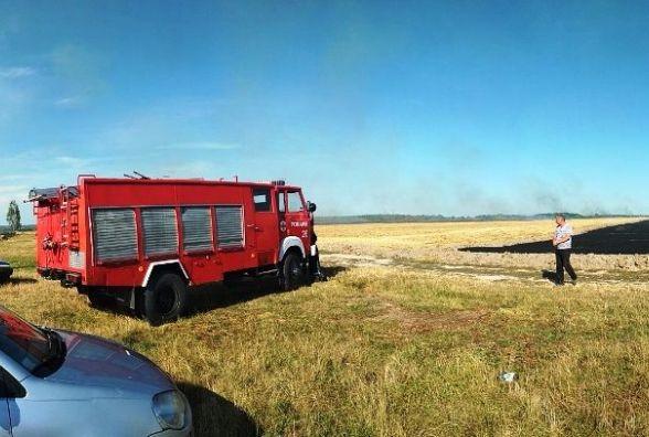 За добу на Житомирщині згоріло 8 га території