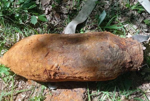 Коростенські піротехніки знищили два вибухонебезпечних предмети часів минулих війн, один з яких – авіабомба
