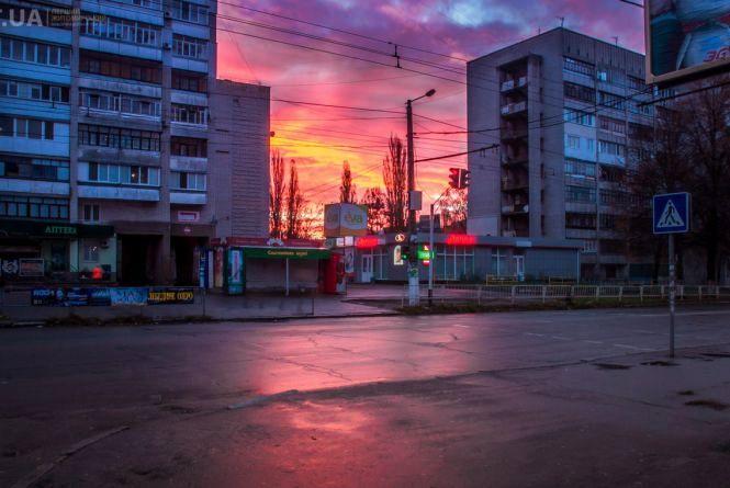 Фоторепортаж ранкового Житомира