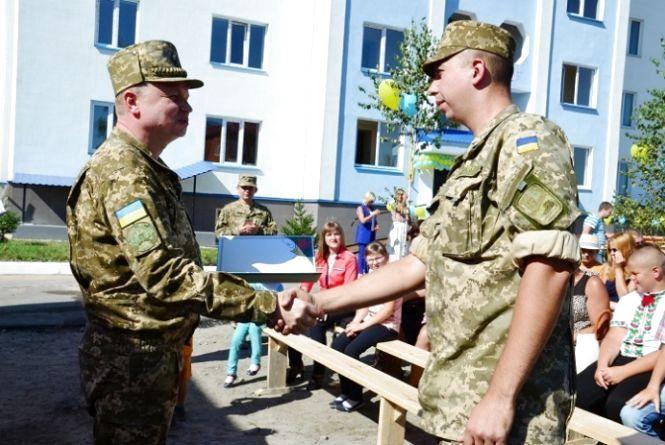 На Житомирщині 23 військовослужбовці отримали нові квартири