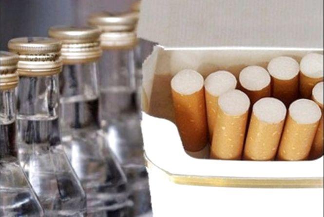 В Україні зросли акцизи на алкогольні напої і тютюнові вироби