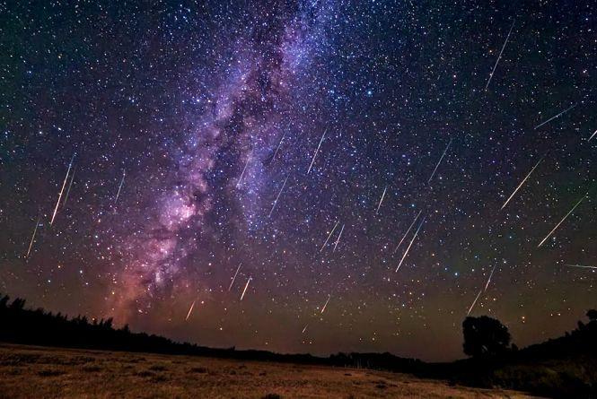 У ніч на 4 січня можна буде побачити метеоритний дощ