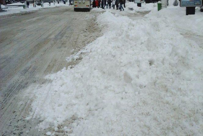 Черговий снігопад– черговий колапс у Житомирі!