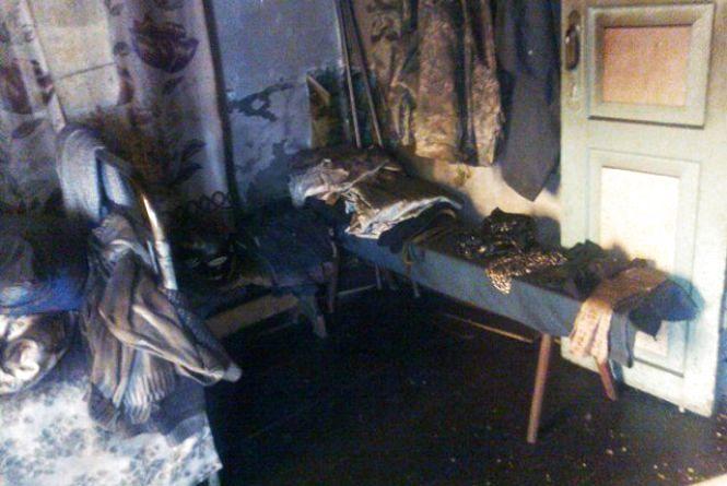 На Житомирщині під час пожежі в житловому будинку загинув чоловік