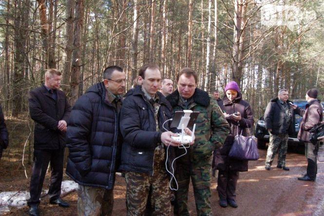 У лісгоспі на Житомирщині ліси оглядає безпілотник