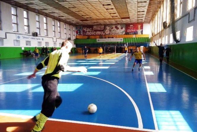 Рятувальники Житомирщини зайняли перше місце в змаганнях з міні-футболу серед силових структур області