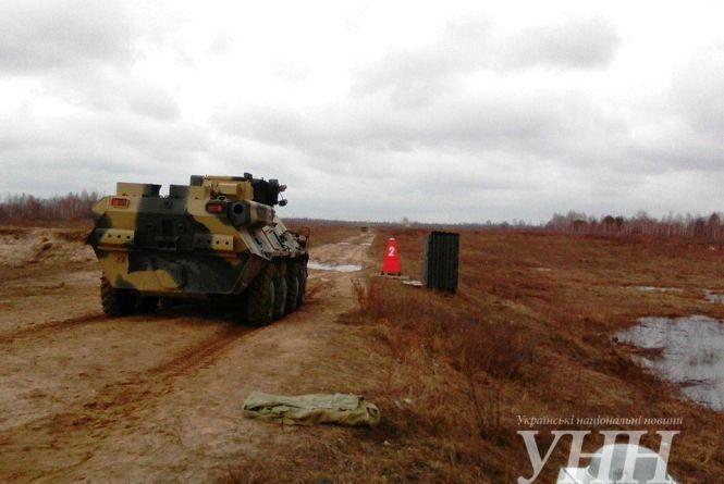 На Житомирському полігоні розпочали випробування нового БТР 3А