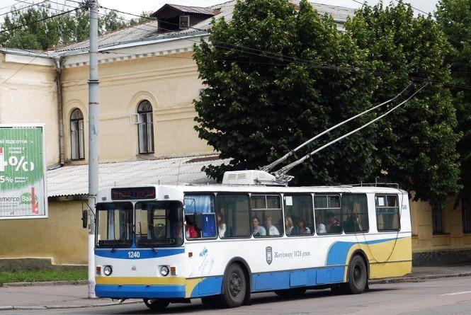 Житомирянам обіцяють безкоштовний проїзд у електротранспорті у Великодню ніч