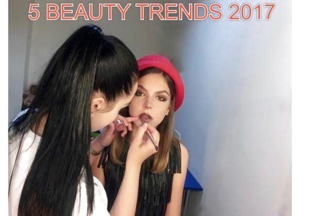 5 make-up трендов 2017